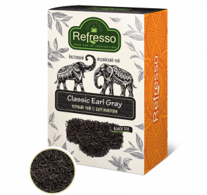 Чай Эрл Грей Ассам черный с бергамотом