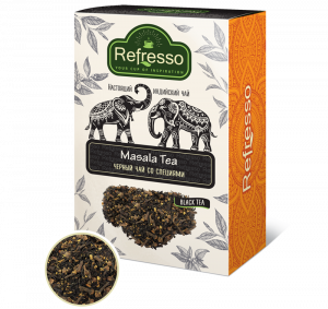 Чай Refresso черный Масала со специями