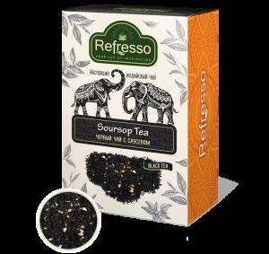 Чай Ассам черный с саусепом